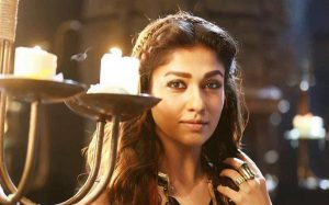Nayanthara with bold eyebrows