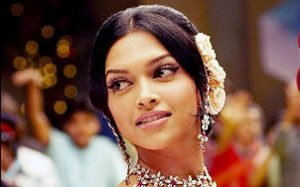Deepika Padukone with thin eyebrows