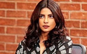Priyanka Chopra with thick eyebrows